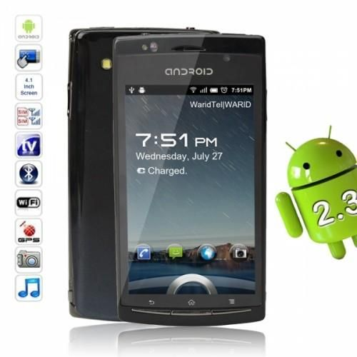 """4.1"""" Android Touch Dual SIM Phone How can you be sure you'll buy the best smart phone, when there's so many on the market these days? To make it simple, pretty much all of them are high quality and have many of the same features. Basically you're picking a size you'll be comfortable with, and a style"""