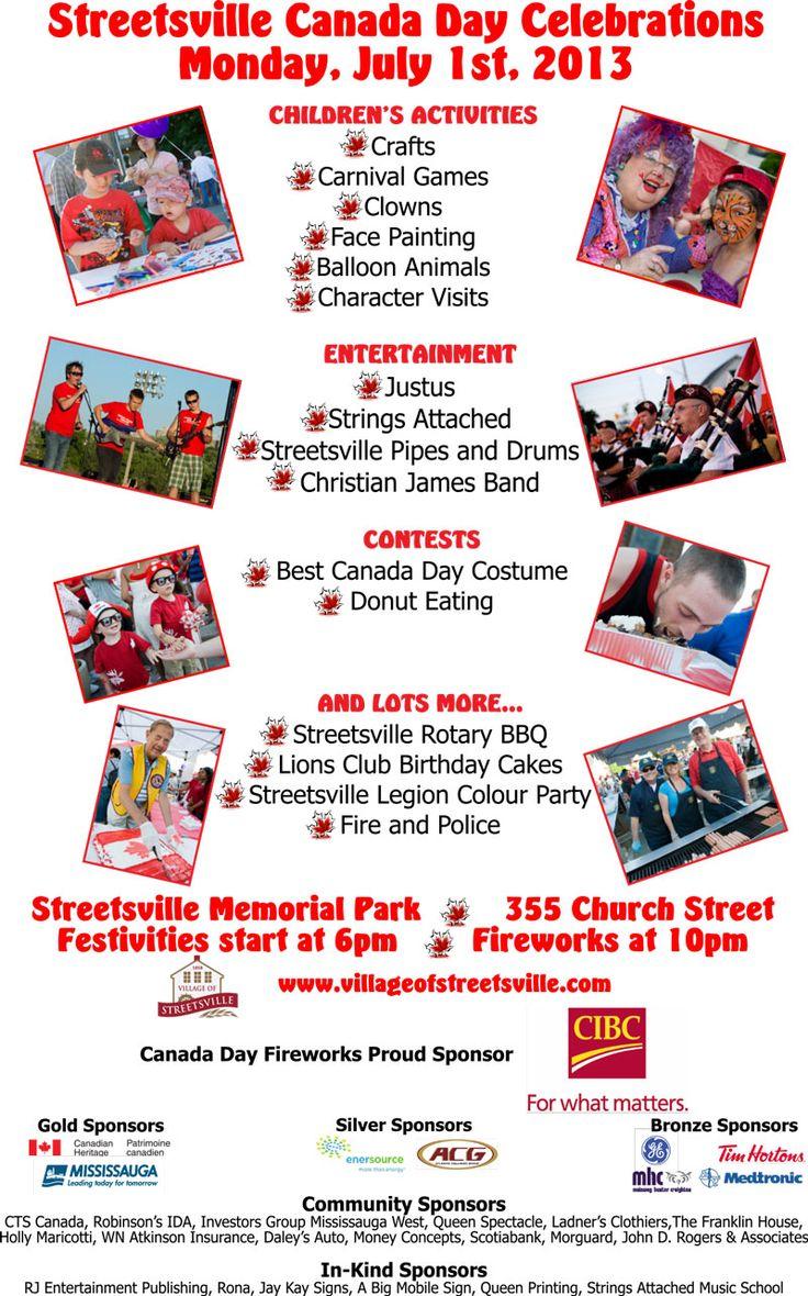 Streetsville Canada Day Celebrations 2013