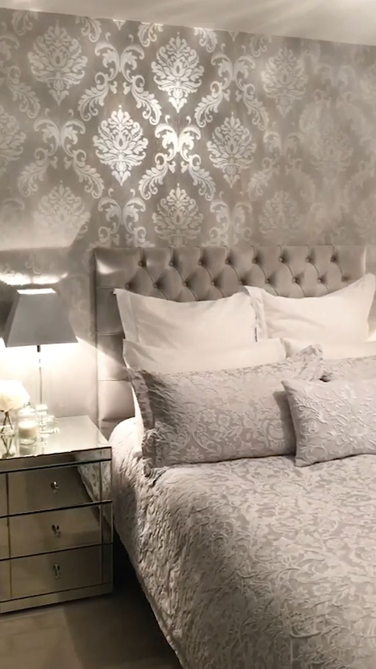 A beautiful damask wallpaper from I Love Wallpaper. It is unique and stunning design
