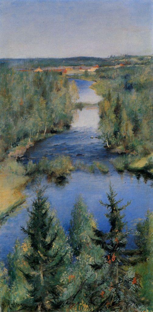 Pekka Halonen, Syyskesällä, 1892, The Life and Art of Pekka Halonen - http://www.alternativefinland.com/art-pekka-halonen/