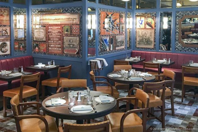 The Ivy Cafe Marylebone is a great place to go for breakfast in London.