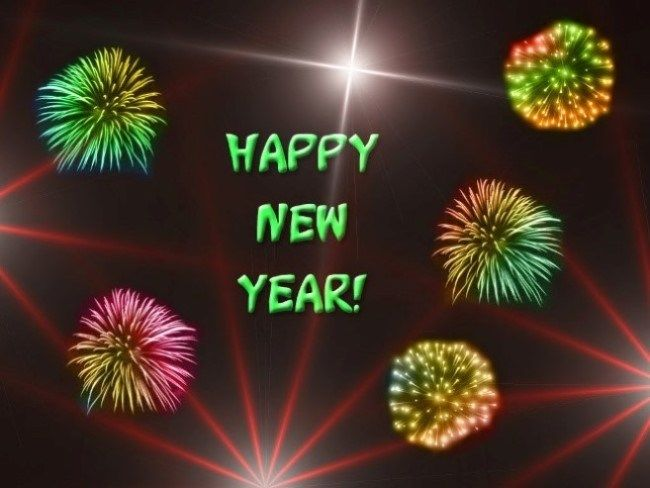 Happy New Year HD Wallpaper Download For Celebration Of New Year