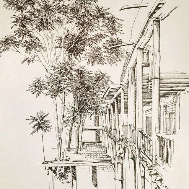 #skechbook #archsketch #arch_more #arch_sketch #iarchitecture #design #draw #pencil #sketch #architecture #architect #ar.sketch