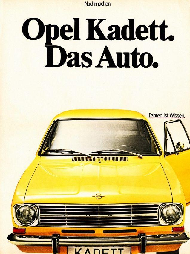 Opel Kadett B (1969)