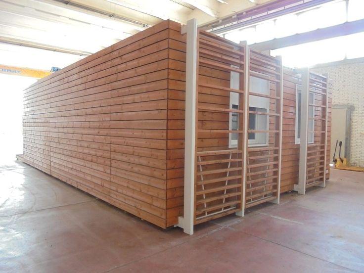 CASA PREFABBRICATA SHELBOX 9,80x6,70 - 4Springs Case Mobili