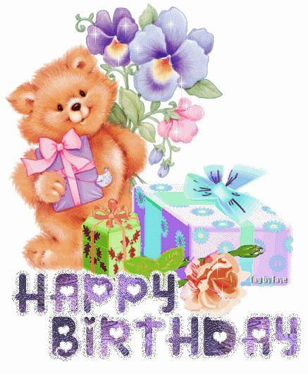 Glitter Birthday Wishes ...