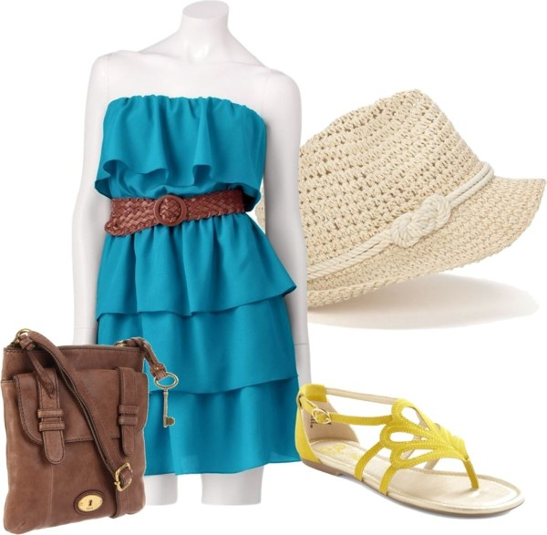 """summerfest hot weather outfit"" by jbackes on Polyvore"