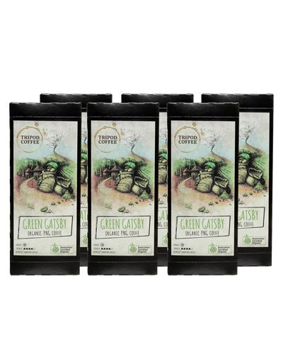 InnerOrigin - This 100% certified organic coffee from Papua New Guinea provides deep notes of plum, chocolate and honey on the palette, balanced with a slight volcanic acidity. Coffee that is not only good for your taste buds, but good for your soul as well.      Nespresso compatible capsules.     6 sleeves (10 pods in each sleeve).     TCO2