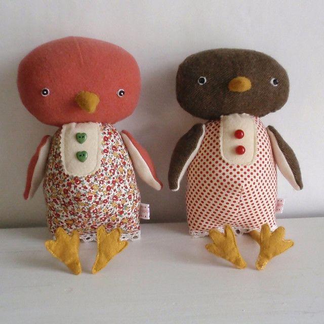 wonderful stuffies by Holly Keller