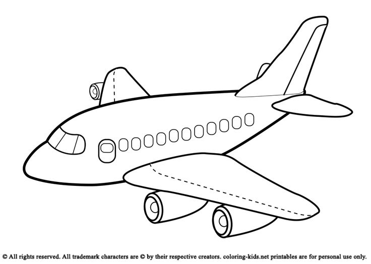 17 Best Images About Airplanes Coloring Pages On Pinterest Funny Sharks And