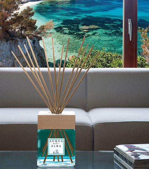 Acqua dell'Elba fragrance.  #Fragrance #Italy #Home #Decor #Diffuse #ItalianLuxury #Lifestyle