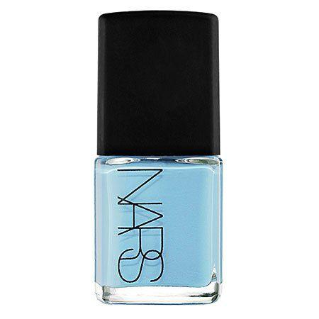НАРС лак для ногтей, тени=порошок синий