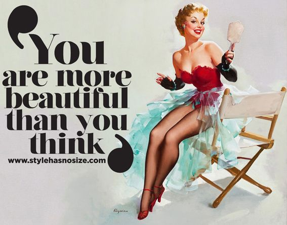 You are more beautiful than YOU think!