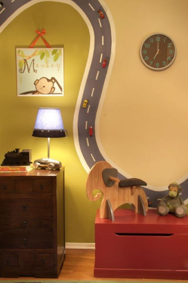 So cool for a boys room!