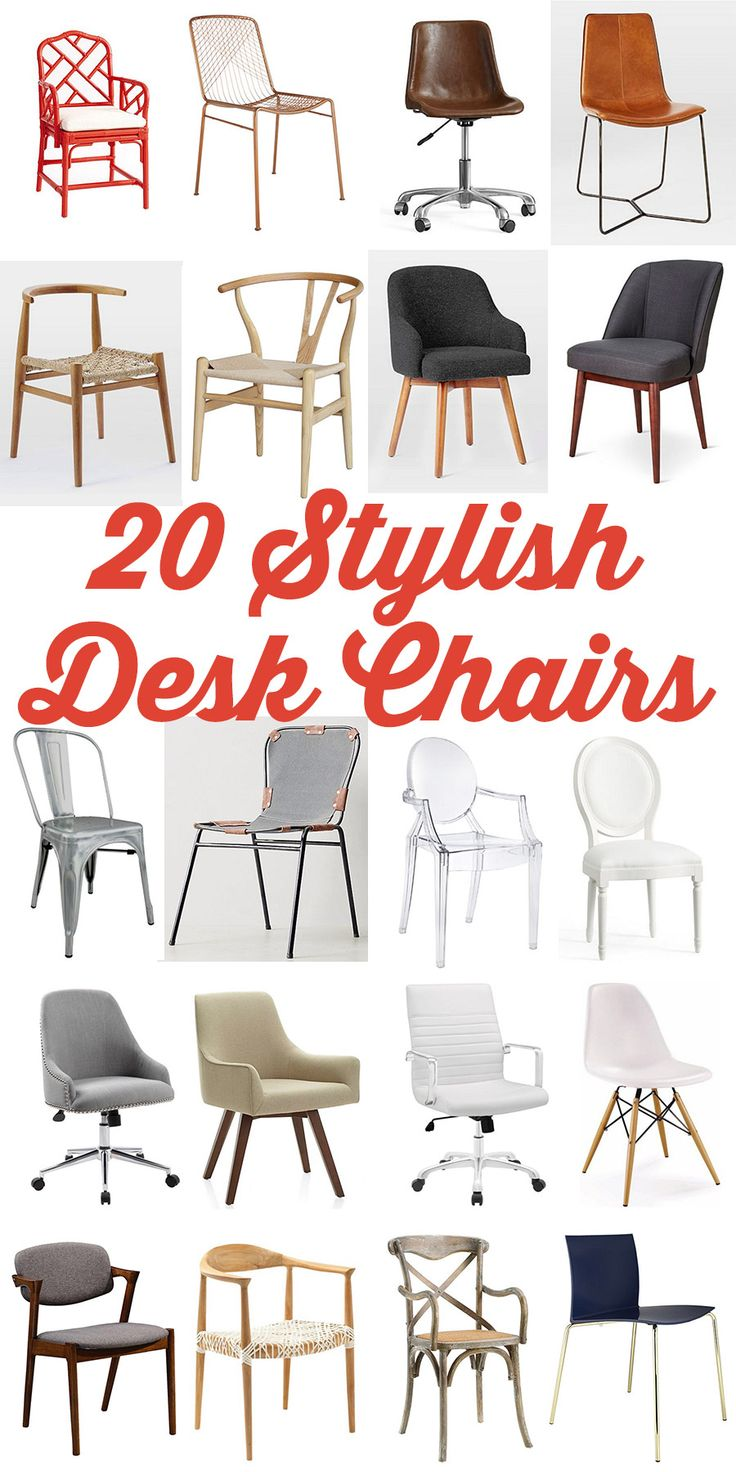 Best Sources for Stylish and Chic Office Desk Chairs | The House of Wood