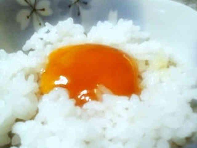 夏バテしない朝食に☆にんにく卵黄ごはんの画像