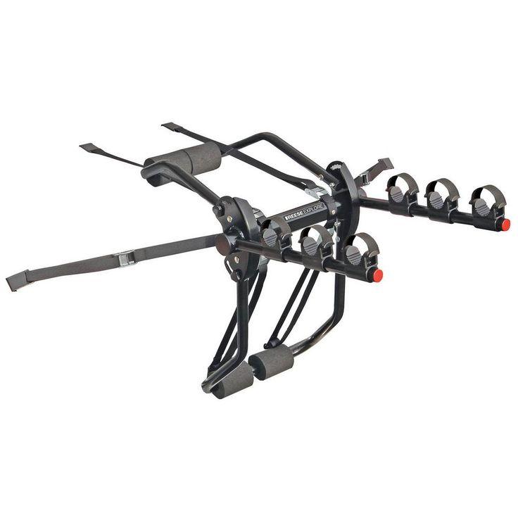 Axis 3 - 3 Bike Trunk Mount Bike Rack, Black
