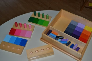 My Montessori Preschool: Montessori Sensorial Education