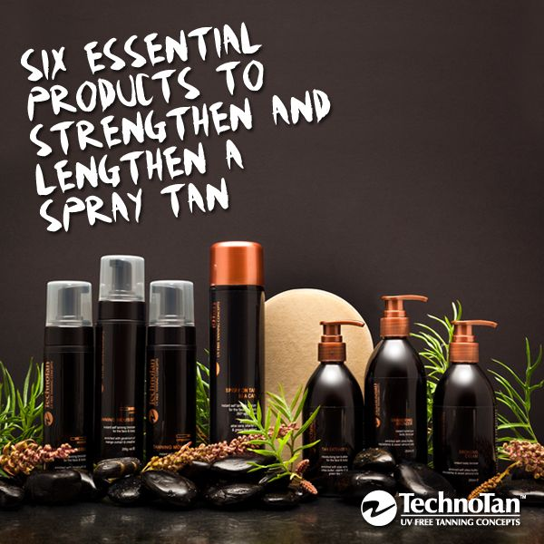 Six Essential Products to Strengthen and Lengthen a Spray Tan #spraytan #tips #beautyhacks