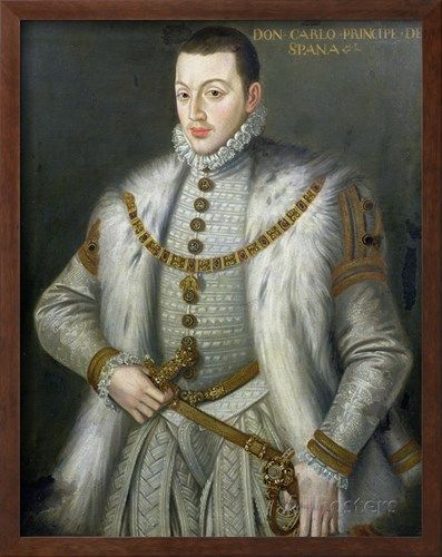 Portrait of Don Carlos (1545-68), Son of Philip II of Spain, after Sofonisba Anguissola, Czech Republic