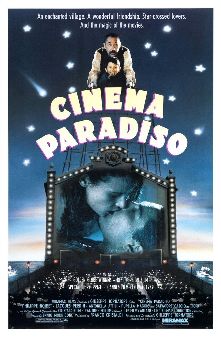 best images about movie posters from until on cinema paradiso 1988