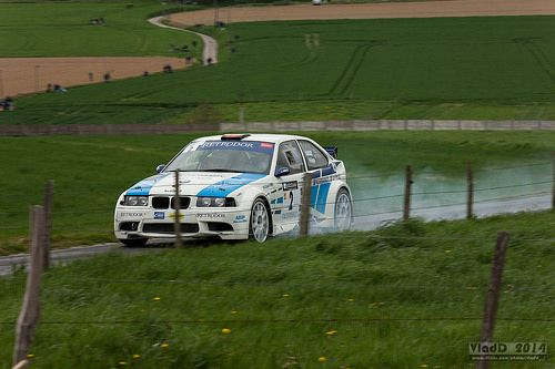 N°2 BMW 318 COMPACT (GOULEY PHILIPPE/GOULEY PATRICIA) Classement final : 6 [Temps = 00:22:39 ]