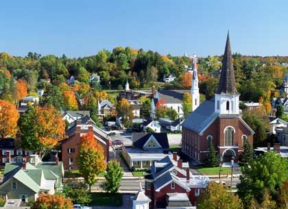 Best town to live in vermont