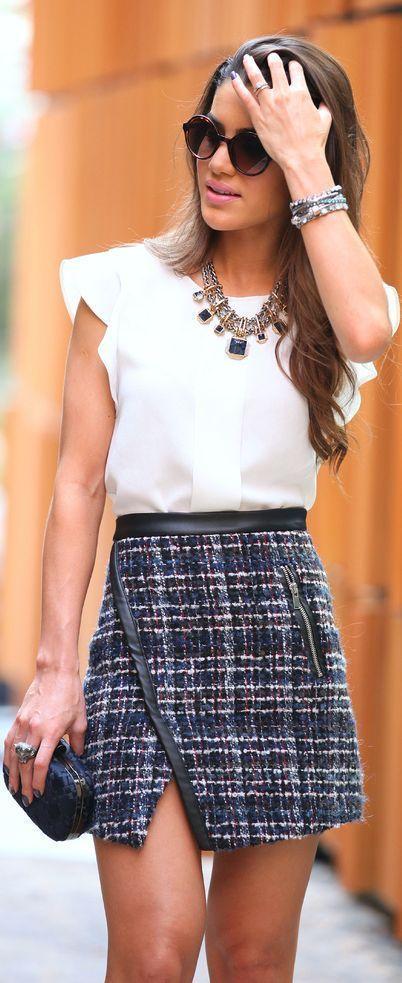 17 Tipos de faldas que necesitas agregar a tu armario