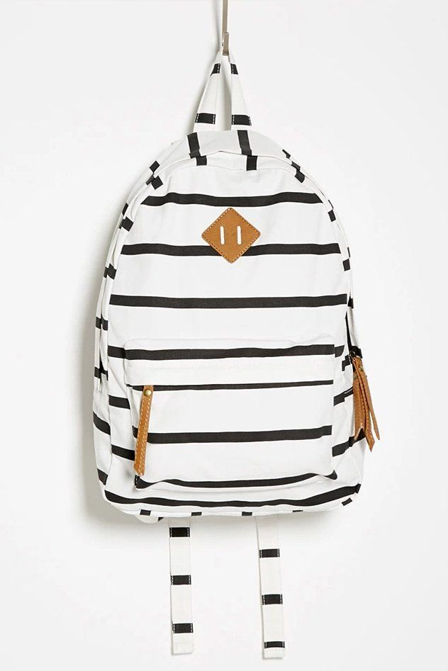 Fresh Striped Canvas Backpacks School Bags only $33.99ByGoods