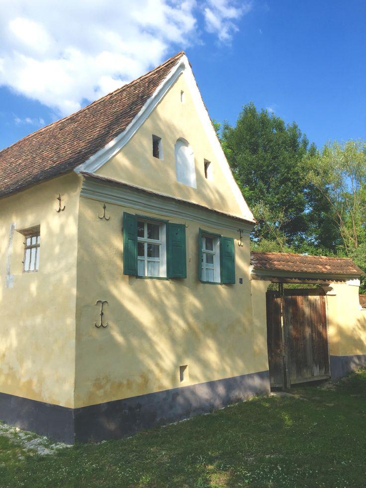 Criț house on a July weekend, 1 hour bike ride from Viscri