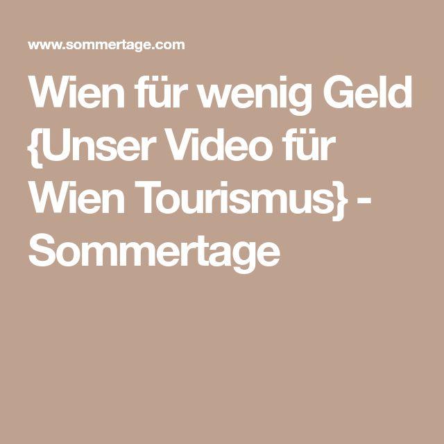Wien für wenig Geld {Unser Video für Wien Tourismus} - Sommertage