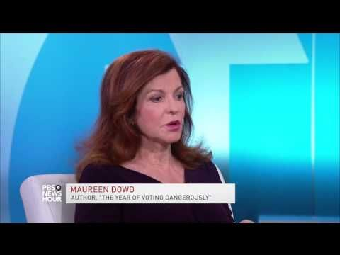 Maureen Dowd on why politics in 2016 sounds like a 'primal scream and death rattle' | PBS NewsHour