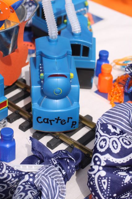 """Photo 4 of 70: Vintage Trains / Birthday """"Carter's 2nd Birthday~Trains!"""" 