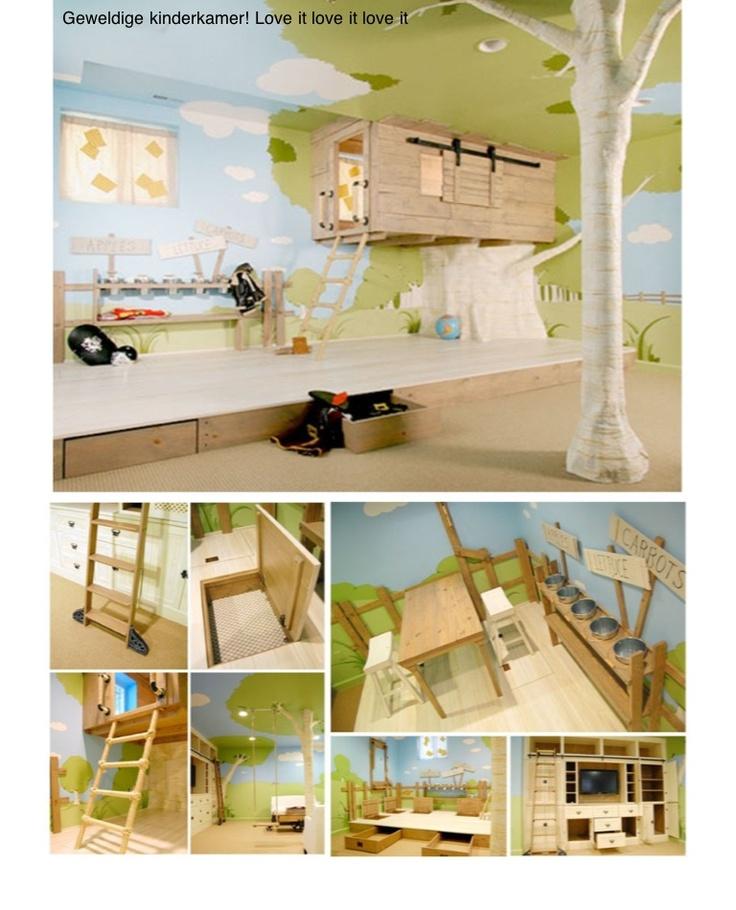 Great, creative kid room!