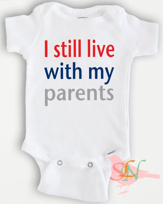 Cute Baby Onesie Bodysuit Funny Quote By SweetLittleNursery 2000