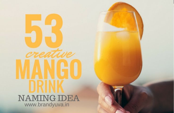 53 Best Mango Soft Drink Company Names | Brandyuva.in