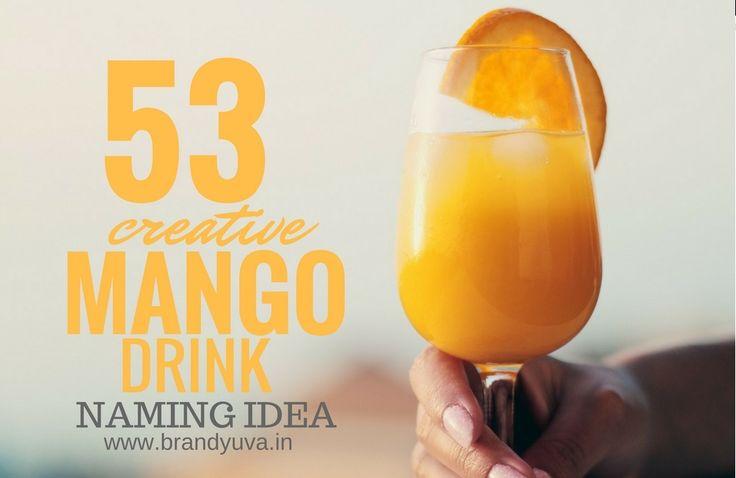 53 Best Mango Soft Drink Company Names | Brandyuva.in
