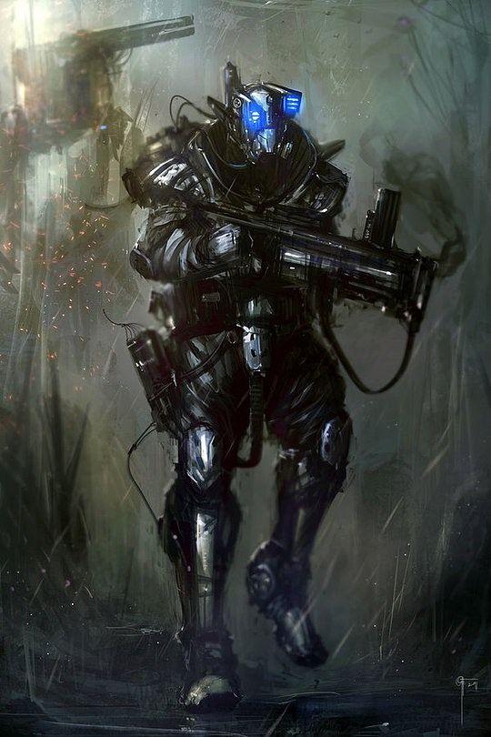 Hegemony ground troops