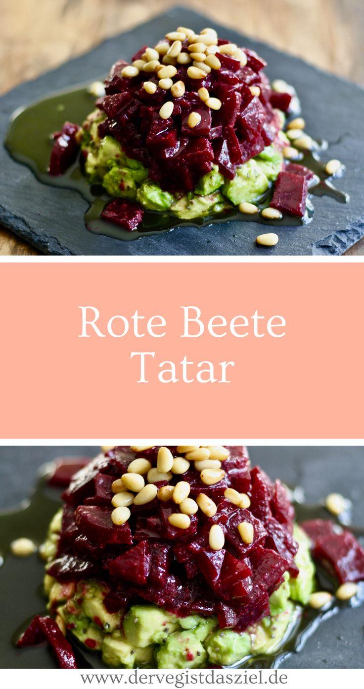 Rote-Bete-Tatar   – Vegane und glutenfreie Rezepte