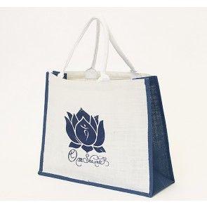 Om Shanti Beach Bag
