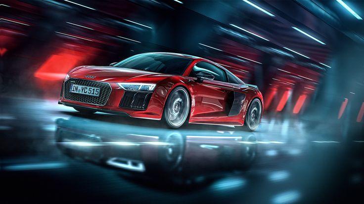 Audi R8 - CGI & Retouching on Behance