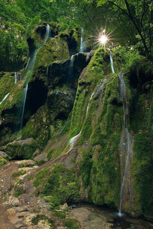 A place where you really feel getting closer to nature.  ~The Beusenitei waterfall.  Romania