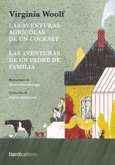 """""""Las aventuras agrícolas de un cockney ; Las aventuras de un padre de familia"""" Virginia Woolf. Es la primera vez que se publican en castellano estas dos obras cortas, escritas por la autora entre los diez y los trece años, y son dos texto notables y sofisticados para una niña de ea edad. Una mirada diferente y divertida de la vida en pareja."""