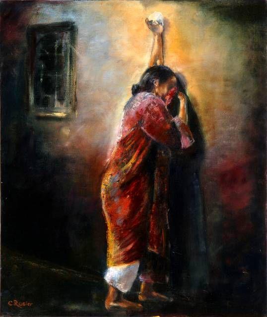 Prachtig schilderij van Christa Rosier.