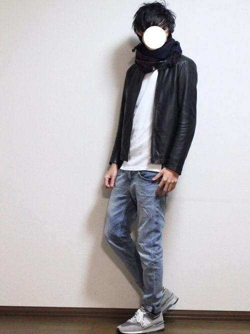 RAGEBLUEのTシャツ・カットソー「<トレンドのロング丈>ワッフルロングカットソー長袖/568966」を使ったワタルのコーディネートです。WEARはモデル・俳優・ショップスタッフなどの着こなしをチェックできるファッションコーディネートサイトです。