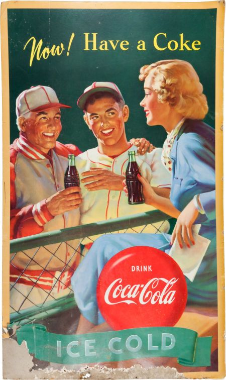 Advertising Poster, United States, ca. 1950