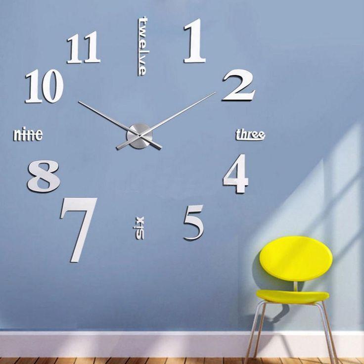 Die besten 25+ Wanduhr xxl Ideen auf Pinterest Xxl uhren, Uhren - schöne wanduhren wohnzimmer
