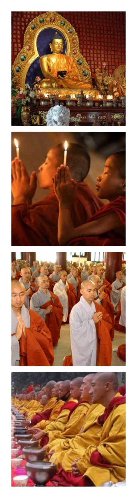 buddhism religion represented by the many groups (especially in Asia) that profess various forms of the Buddhist doctrine and that venerate Buddha