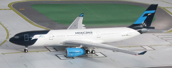AeroClassics, Mexicana, Airbus A330-200, XA-MXQ