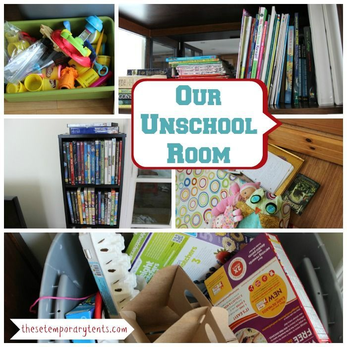 I want to introduce you our unschool room hint it s